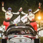 WRCラリーカーヤリスWRCはお尻が素敵!