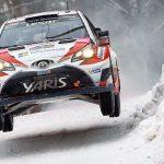 WRCラリー・スウェーデン day3TOYOTA首位!