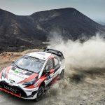 WRC速報、トヨタヤリスWRCはラリー・メキシコでは勝てそうに無いですね。現在3日め終わって6位。