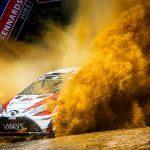 WRCラリー・オーストラリア TOYOTAGAZOO Racing ヤリーマティ・ラトバラ最終SSリタイヤ。林に突っ込む。