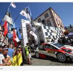 TOYOTAヤリスWRC。WRCドイツで優勝!3位にも入賞。すごいTOYOTA